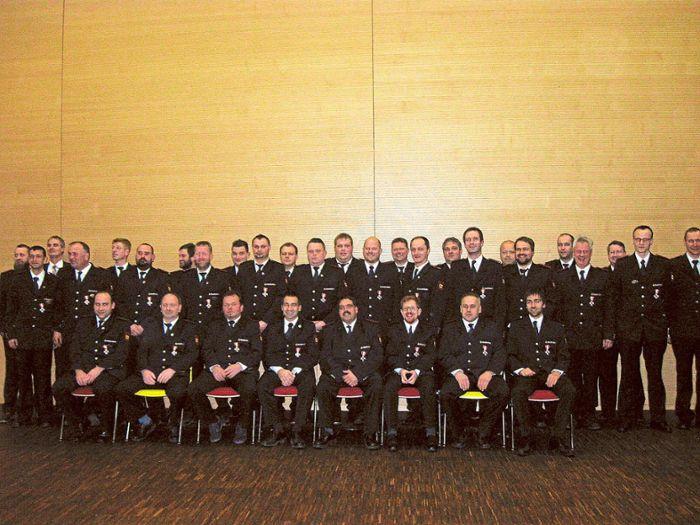 Gesamtstädtische Hauptversammlung der Dornhaner Feuerwehr