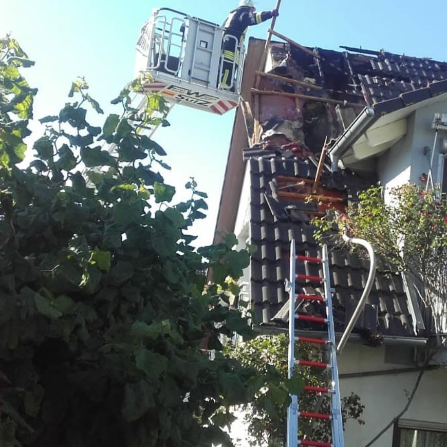 B3 Dachstuhlbrand