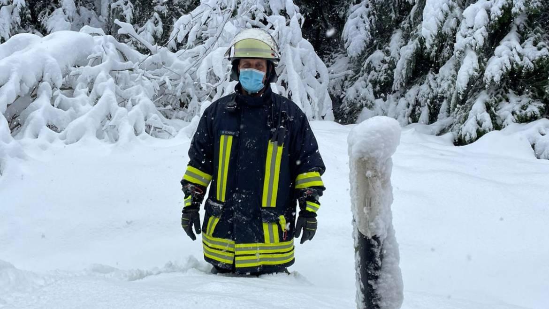 H 1 Mehrere Einsätze durch Schneebruch im Stadtgebiet